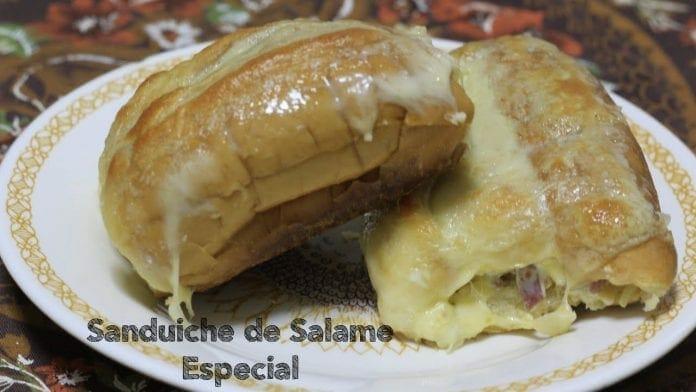 Sanduíche de Salame Gratinado - Especial Pós Carnaval - Canal Rango