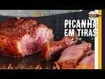 Picanha em Tiras. Feat. Paizão do Canal Barbaecue? - Canal Rango
