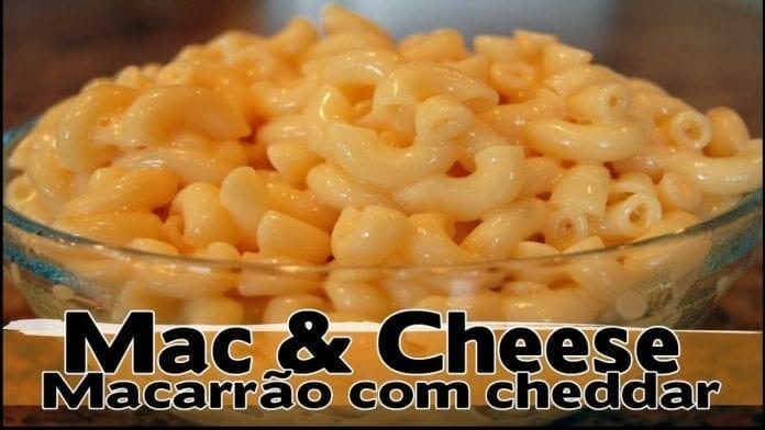 Macarrão com Cheddar ! Mac & Cheese ! - Canal Rango
