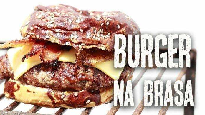 Hamburguer Na Brasa - Como Fazer X-bacon - Canal Rango