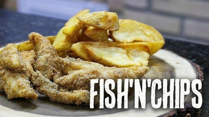 Como Fazer Fish'n'chips - Canal Rango