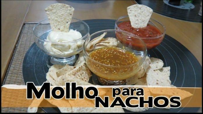 Molho Rápido para Nachos! 3 Opções! - Canal Rango