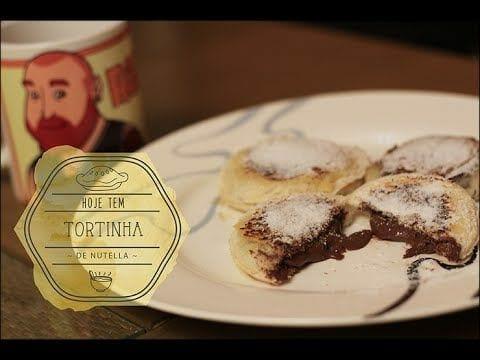 Tortinha de Nutella - Pronta em 5 Minutos - Canal Rango