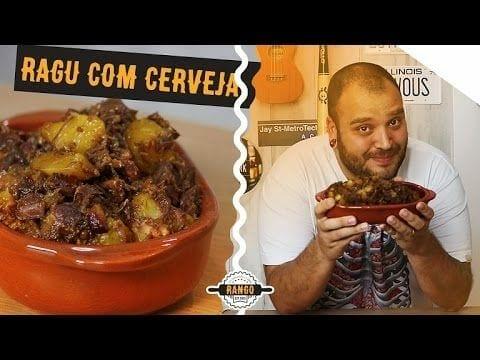 Ragu com Cerveja E Bacon - Carne de Panela - Canal Rango