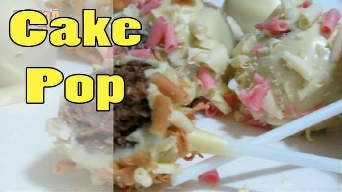 Cake Pop! Pirulito de Bolo!! - Canal Rango