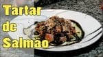 Tartar de Salmão! (Sashimi Picado!!!) - Canal Rango
