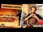 Hambúrguer Carbonara - Feat. Lierson da Tradi - Canal Rango