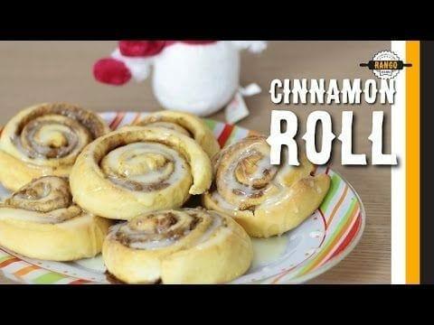 Cinnamon Roll - Pãezinhos de Canela - Canal Rango