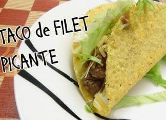 Taco Picante de Filet Mignon! - Canal Rango