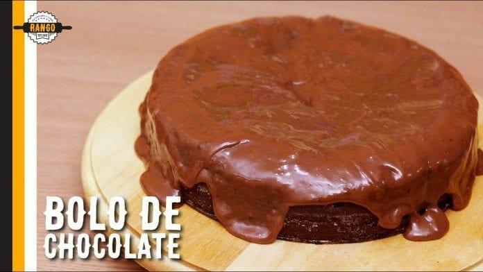 Bolo de Chocolate - Especial de Aniversário! - Canal Rango