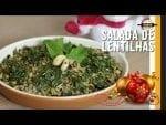 Salada de Lentilhas - Sorte para o Ano Novo! - Canal Rango