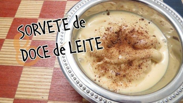 Sorvete de Doce de Leite! 2 Ingredientes! - Canal Rango