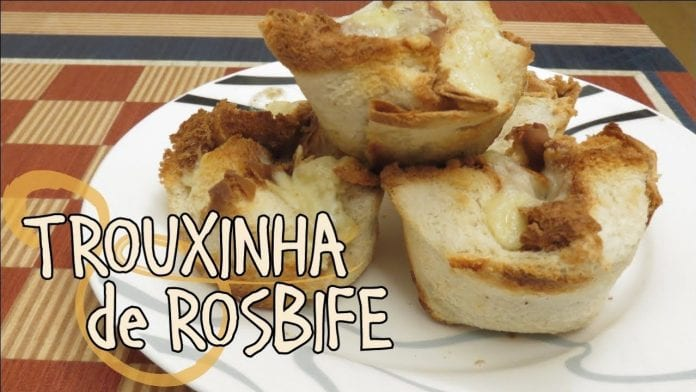 Trouxinha de Rosbife - (Roast Beef In The Basket) - Canal Rango