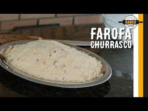 Como Fazer Farofa Fácil, Farofa para Churrasco ? - Canal Rango