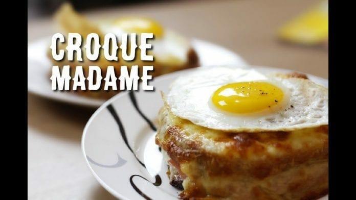 Croque Madame - Um Misto Quente Metido a Chique! - Canal Rango