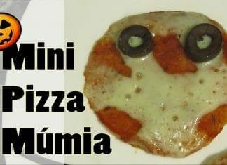 Mini Pizza Múmia! (Especial de Halloween!!) - Canal Rango