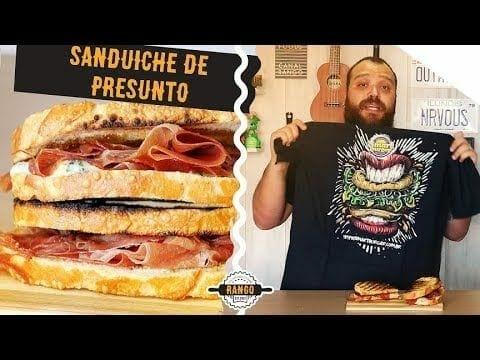 O Melhor Sanduíche de Presunto do Mundo - Canal Rango