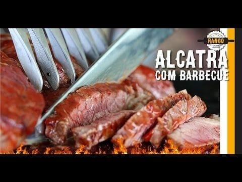 Churrasco de Alcatra com Molho Barbecue - Coração de Alcatra - Com Perrone do Sanduba Insano!? - Canal Rango