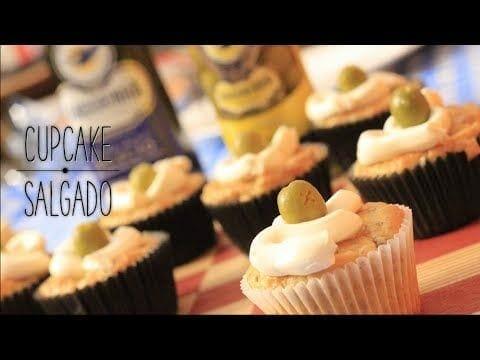 Como Fazer Cupcake Salgado - Canal Rango