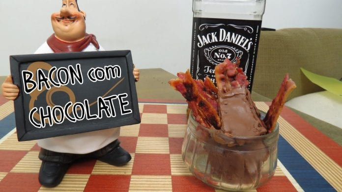 Sticks de Bacon com Chocolate! (Com Mel e Jack Daniel's) - Canal Rango