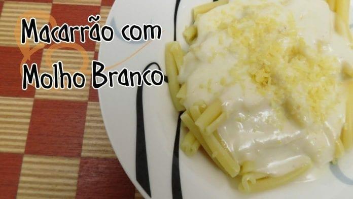 Macarrão com Molho Branco - Béchamel - Bistrobox - Canal Rango