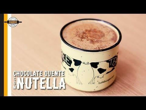 Chocolate Quente com Nutella - Canal Rango