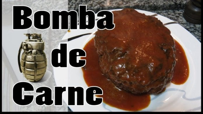 Bomba de Carne com Mussarela ! - Canal Rango