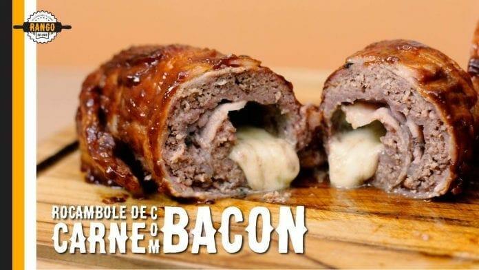 Rocambole de Carne e Bacon - Canal Rango