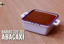 Molho Barbecue com Abacaxi - Pineapple Bbq - Canal Rango