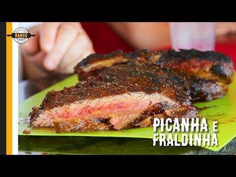 Bife de Tira (Picanha) e Fraldinha Texana - Canal Rango
