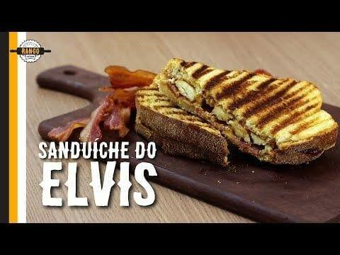 Sanduíche de Bacon, Banana e Pasta de Amendoim - Sanduíche do Elvis - Canal Rango