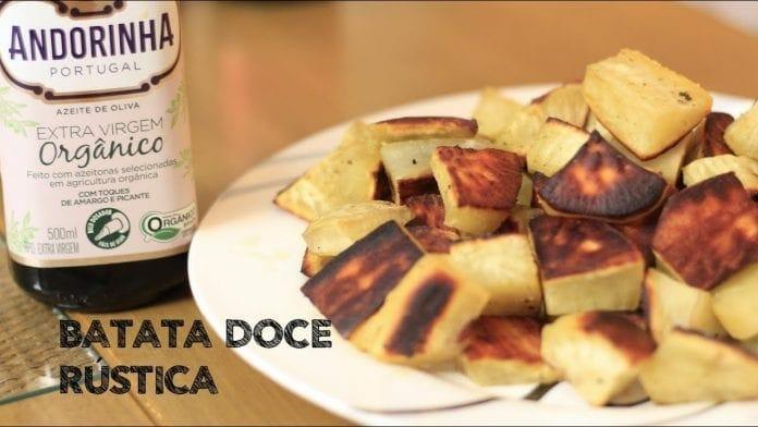 Batata Doce Rústica - Canal Rango