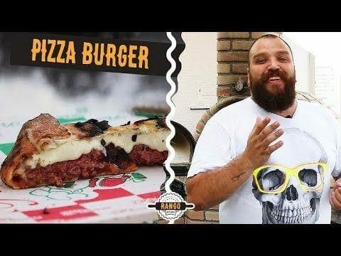 Como Fazer Pizza de Hambúrguer - Pizza Burger - Especial Pizza Ep. 4 - Canal Rango
