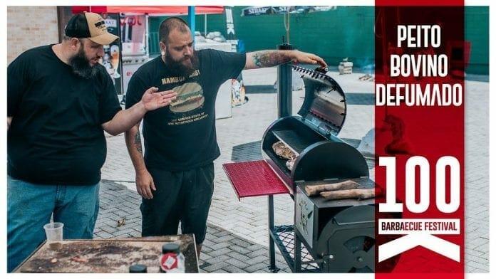 Peito Defumado - Especial 100k Barbaecue - Participação Tadeu Canal Rango - Barbaecue