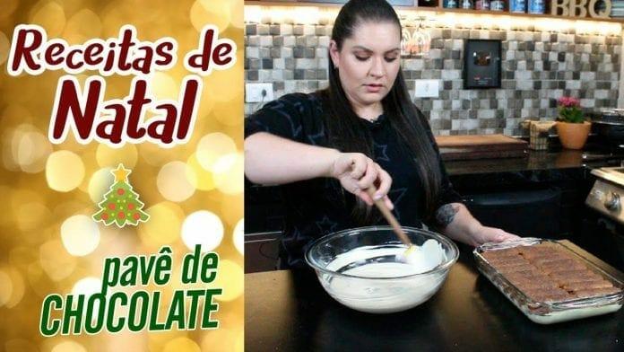 Receita de Pavê de Natal Feat. Carol Conquista - BBQ em Casa