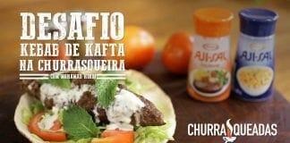 Desafio Kebab de Kafta na Churrasqueira com Mohamad Hindi - Churrasqueadas
