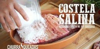 Costela Salina (Na Crosta de Sal) - Churrasqueadas