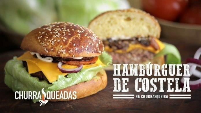 Hambúrguer de Costela - Churrasqueadas