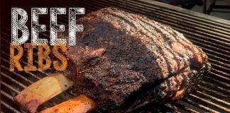 Beef Ribs (Como Fazer Costela Defumada) - Cansei de Ser Chef