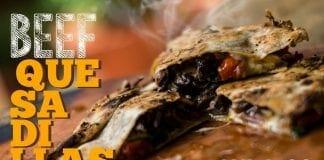 Beef Quesadilla (Como Fazer Quesadilla Mexicana) - Cansei de Ser Chef