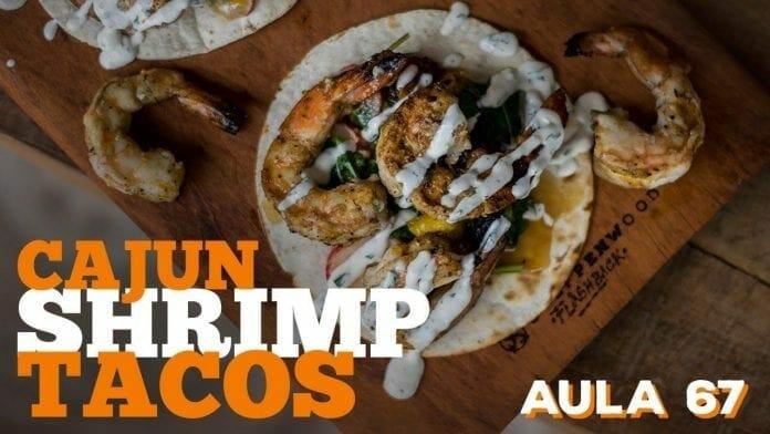 Cajun Shrimp Tacos (Como Fazer Tacos) - Cansei de Ser Chef