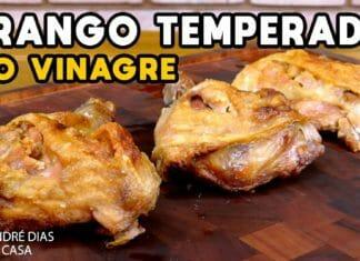 Como Fazer Frango Temperado no Vinagre - BBQ em Casa - Mestres do Churrasco