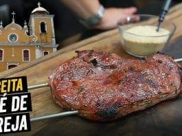 Como Preparar Churrasco de Igreja - Comida Típica de Igreja (Alcatra) - BBQ em Casa