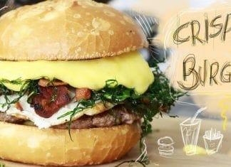 Hambúrguer Caseiro com Bacon, Crispy de Couve, Ovo e Mandioquinha - Canal Rango