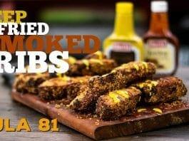 Deep Fried Smoked Ribs (Como Fazer Costelinha Suína Defumada) - Cansei de Ser Chef