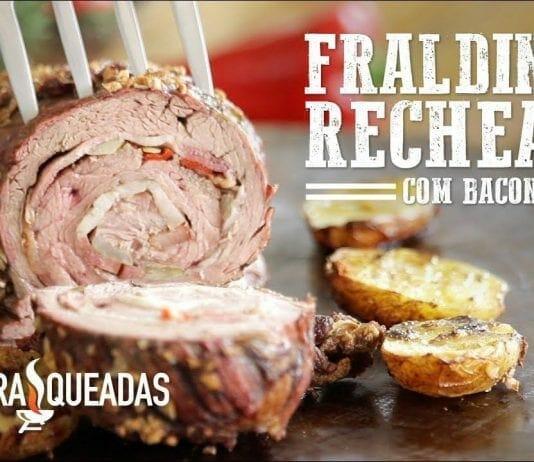Fraldinha Recheada com Bacon no Mini Peppe - Churrasqueadas