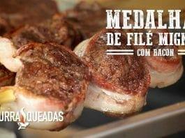 Medalhão de Filé Mignon com Bacon - Churrasqueadas