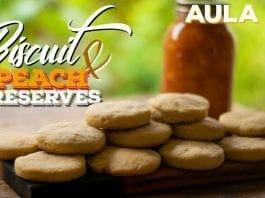Biscuits W/ Peach Preserves (Como Fazer Bolachas Amanteigadas) - Cansei de Ser Chef