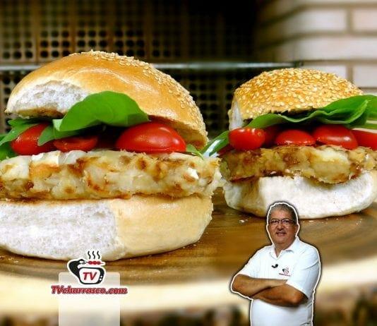 Como Fazer Hambúrguer de Bacalhau - Tv Churrasco-Site