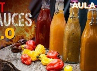 Hot Sauces 2.0 (Como Fazer Molho de Pimenta) - Cansei de Ser Chef